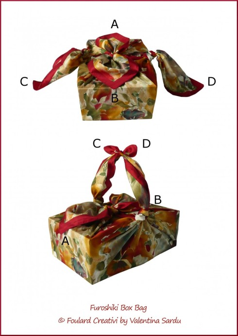 Tutorial Furoshiki Box Bag