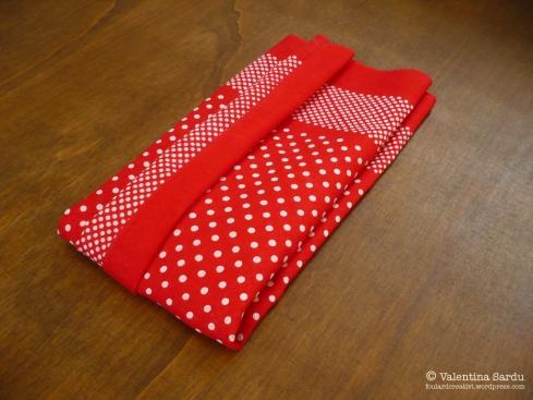 bomboniera foulard pieghe